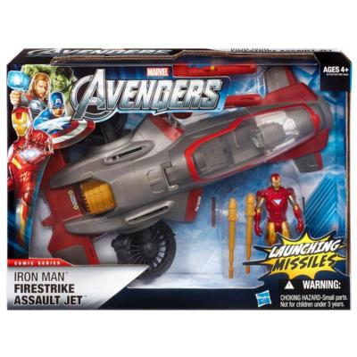 Iron Man Firestrike Assault Jet (Avengers)