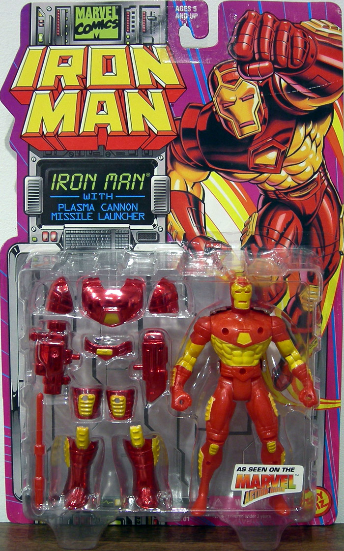 Iron Man  (with plasma cannon)