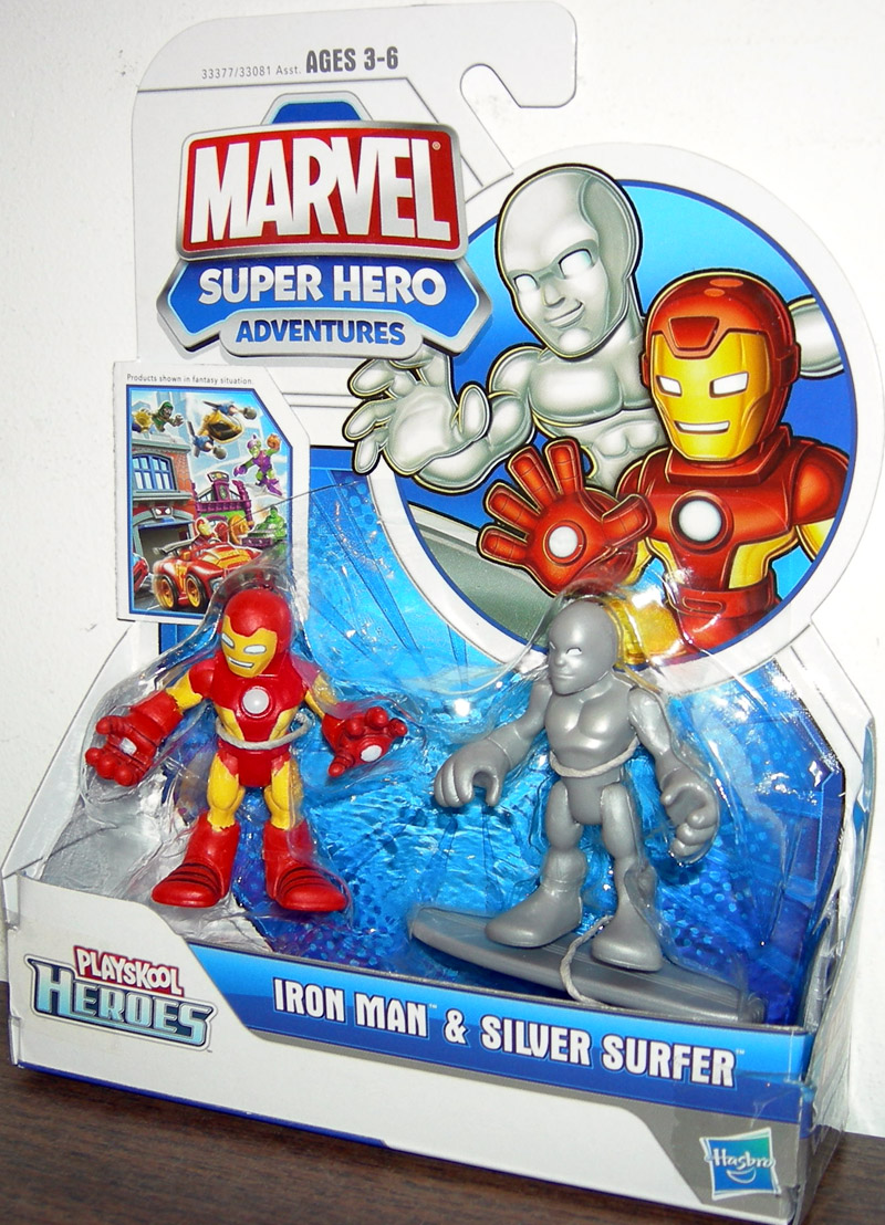 Iron Man & Silver Surfer (Playskool Heroes)