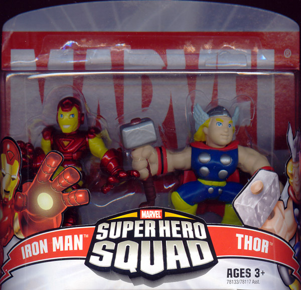 Iron Man & Thor (Super Hero Squad)