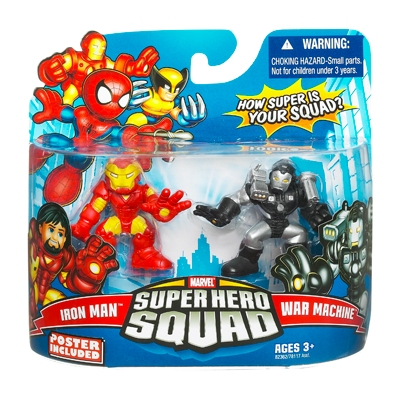 Iron Man & War Machine (Super Hero Squad)