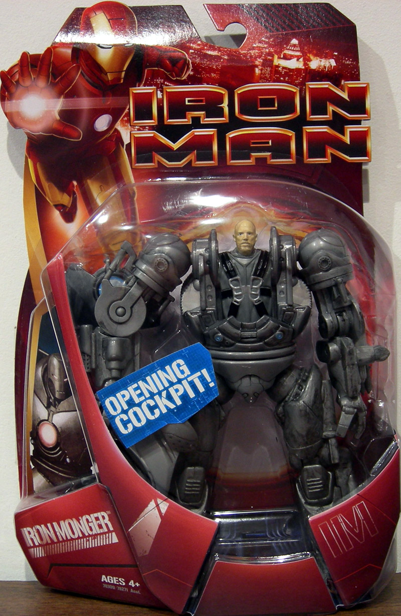 Iron Monger with opening cockpit (movie)