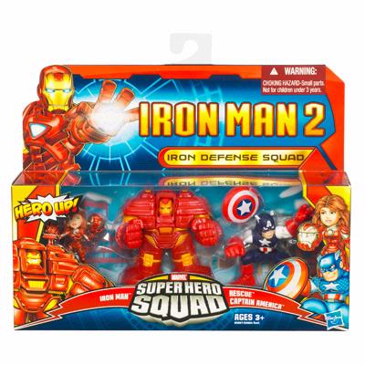 Iron Defense Squad (Super Hero Squad)
