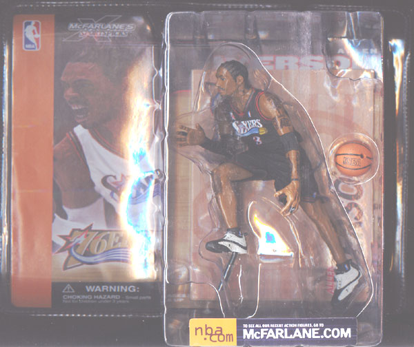 Allen Iverson (black uniform)