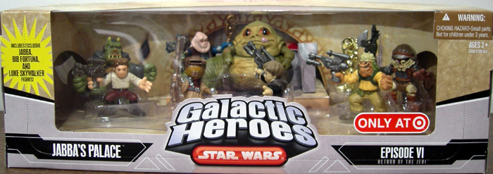 Jabba's Palace 9-Pack (Galactic Heroes)