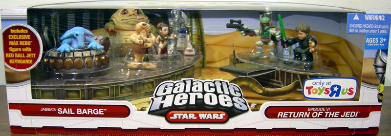 Jabba's Sail Barge 7-Pack (Galactic Heroes)