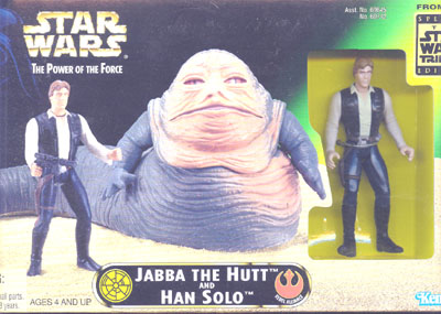 Jabba the Hutt and Han Solo