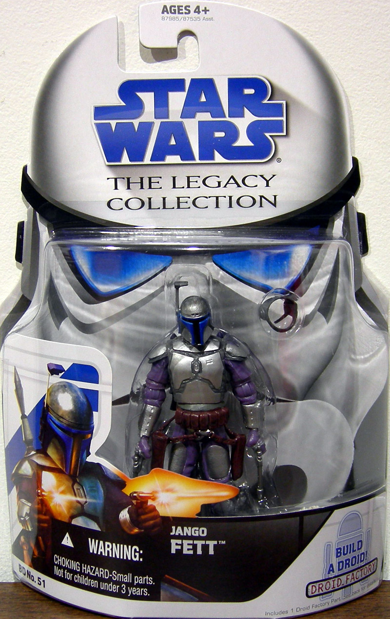 Jango Fett (The Legacy Collection, BD No. 51)