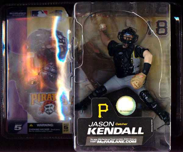Jason Kendall (gray uniform)