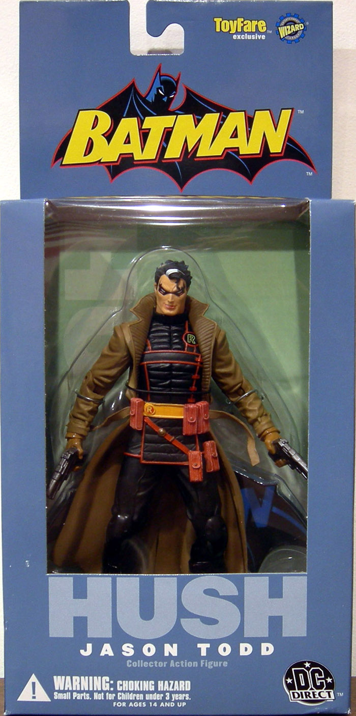 Jason Todd as Hush (Wizard ToyFare Exclusive)