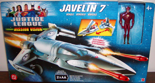 Javelin 7 (Mission Vision with The Flash)