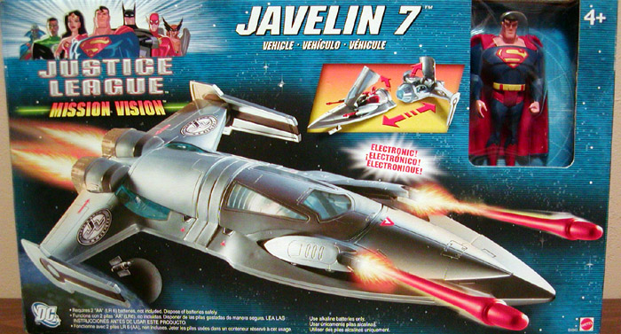 Javelin 7 (Mission Vision with Superman)