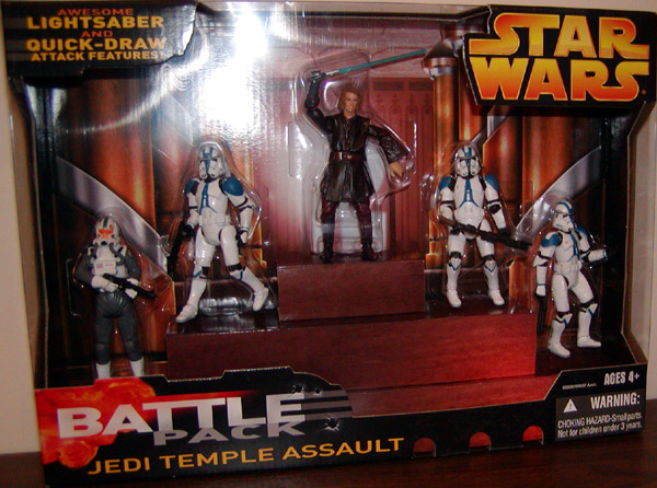 Jedi Temple Assault Battle 5-Pack
