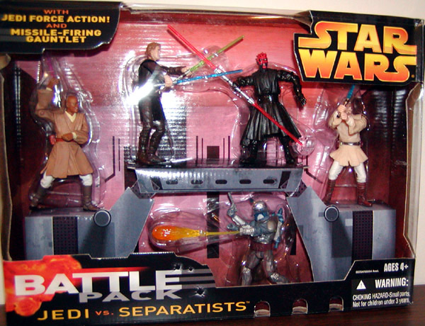 Jedi vs. Separatists Battle 5-Pack