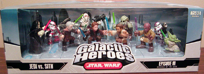 Jedi vs. Sith 10-Pack (Galactic Heroes)