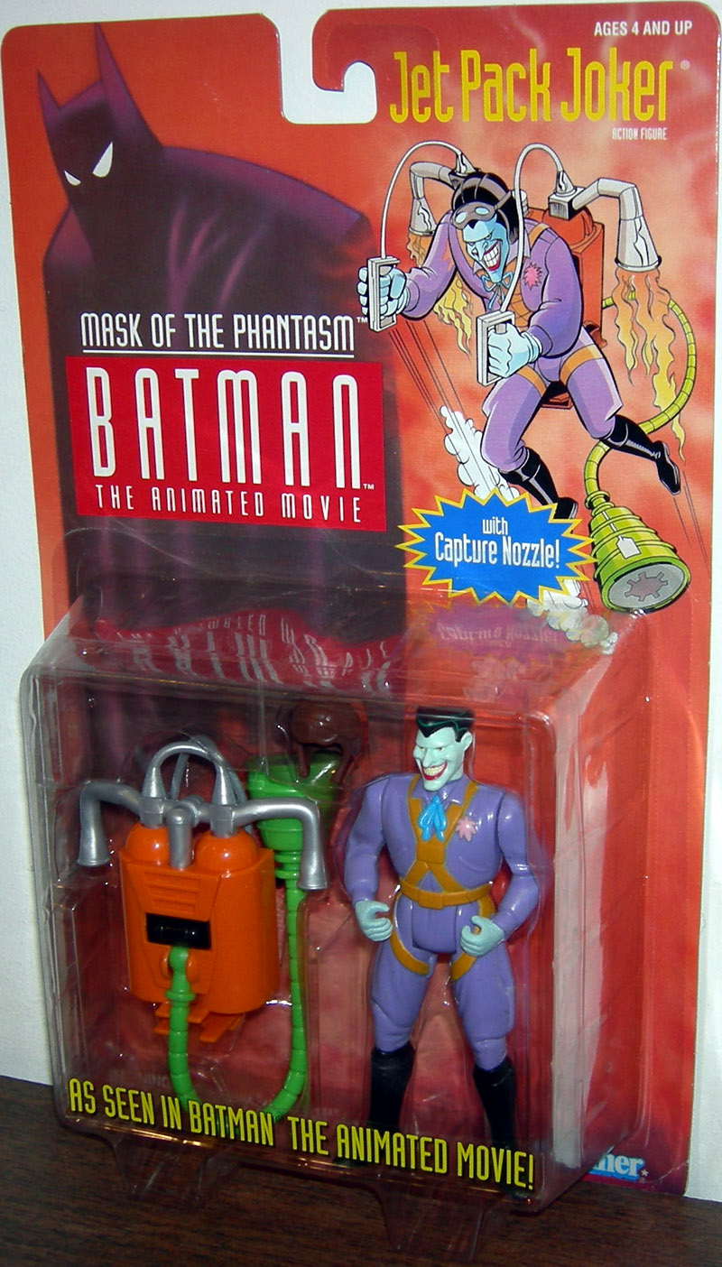 Jet Pack Joker, green face (Mask Of The Phantasm)