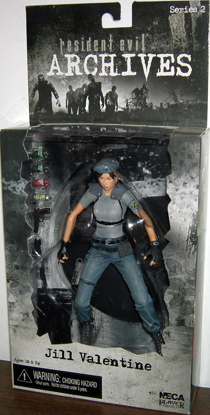 Jill Valentine (Archives, series 2, gray, grey)