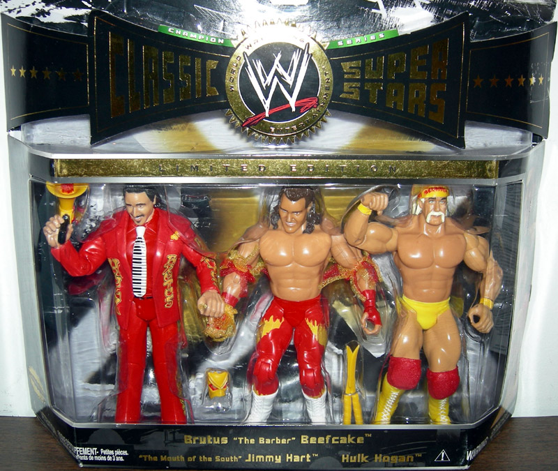 Mouth of the South Jimmy Hart Brutus Barber Beefcake Hulk Hogan