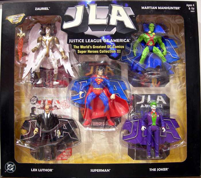 Justice League of America 5-Pack (Series III)