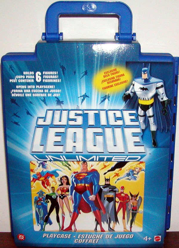 Justice League Unlimited Playcase (with exclusive deco Batman figure)