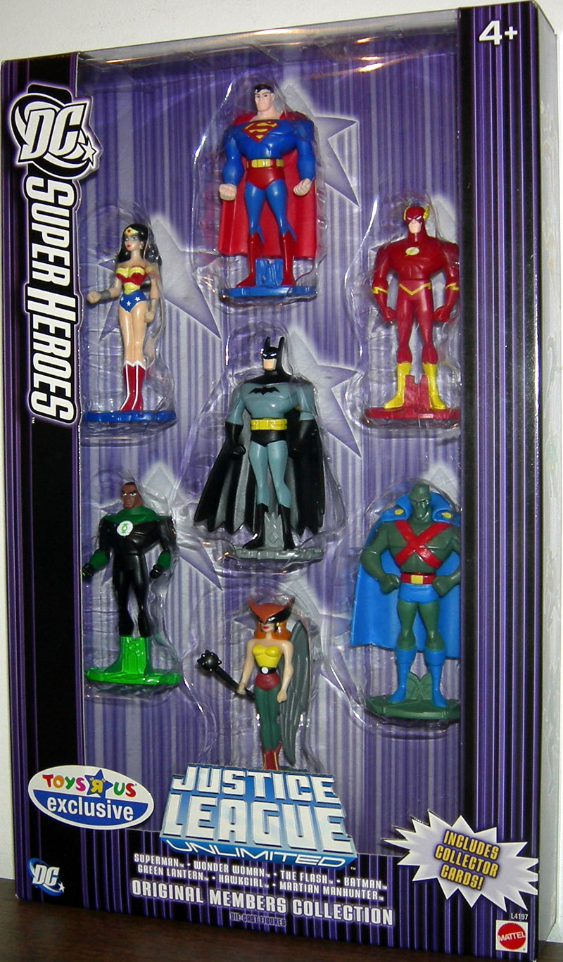Justice League Unlimited Diecast 7-Pack