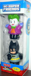 Little People DC Super Friends The Joker & Batman 2-Pack