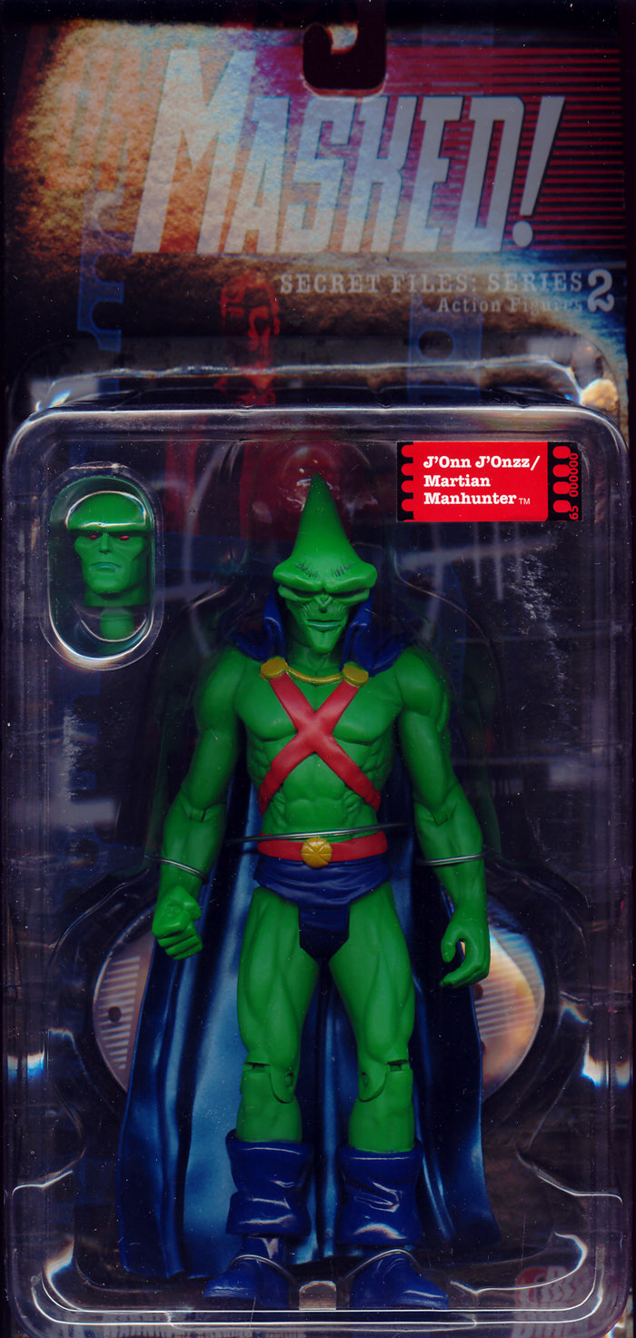 JOnn JOnzz / Martian Manhunter (Secret Files: Unmasked!: Series 2)