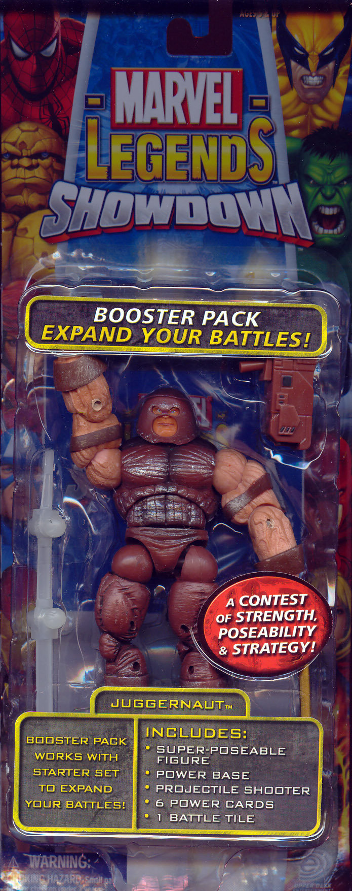 Juggernaut (Marvel Legends Showdown, mouth closed)