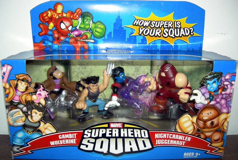Juggernaut Attacks 4-Pack (Super Hero Squad)