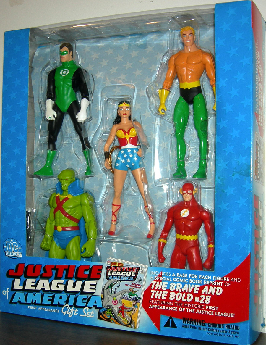 Justice League of America 5-Piece Gift Set