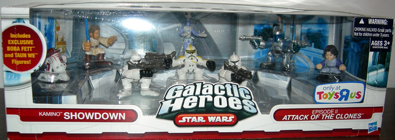 Kamino Showdown 8-Pack (Galactic Heroes)