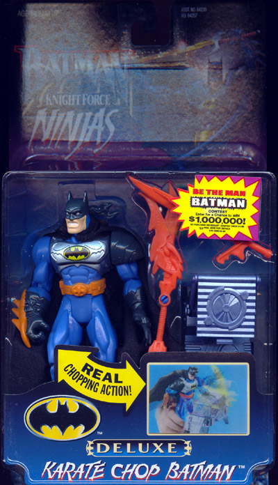 Karate Chop Batman (Knight Force Ninjas)