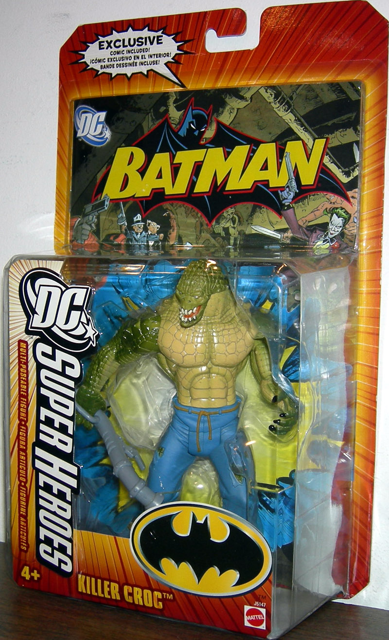 Killercroc Dcsuperheroes on Dc Universe Killer Croc Toys