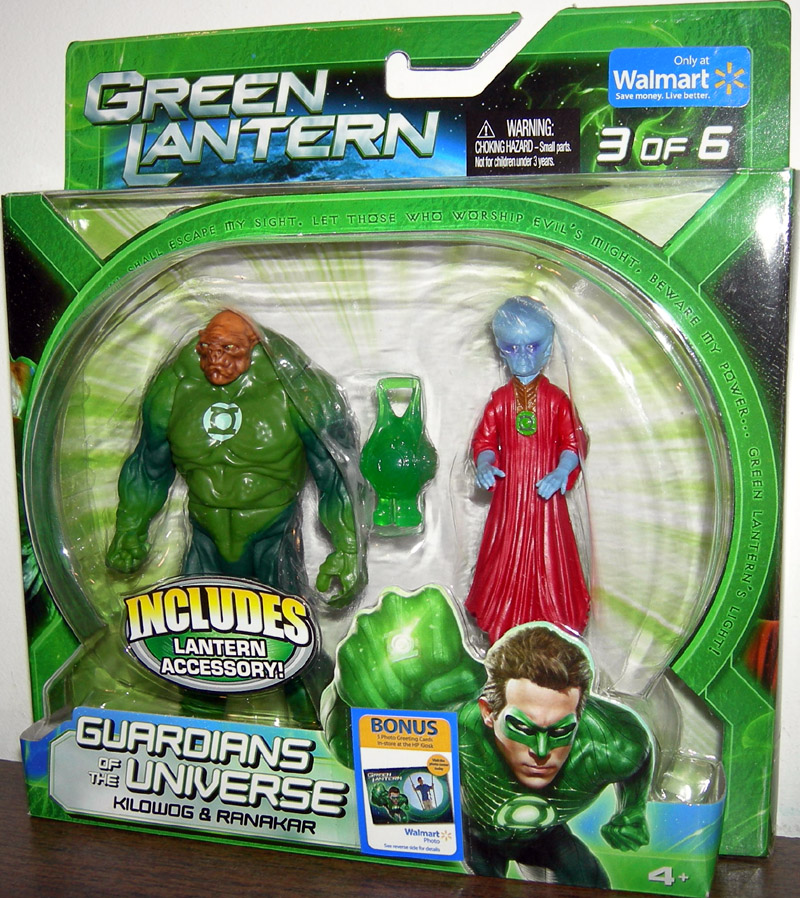 Kilowog & Ranakar (Walmart Exclusive, 3 of 6)