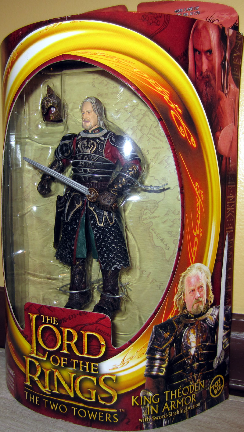 King Theoden in armor (The Two Towers)
