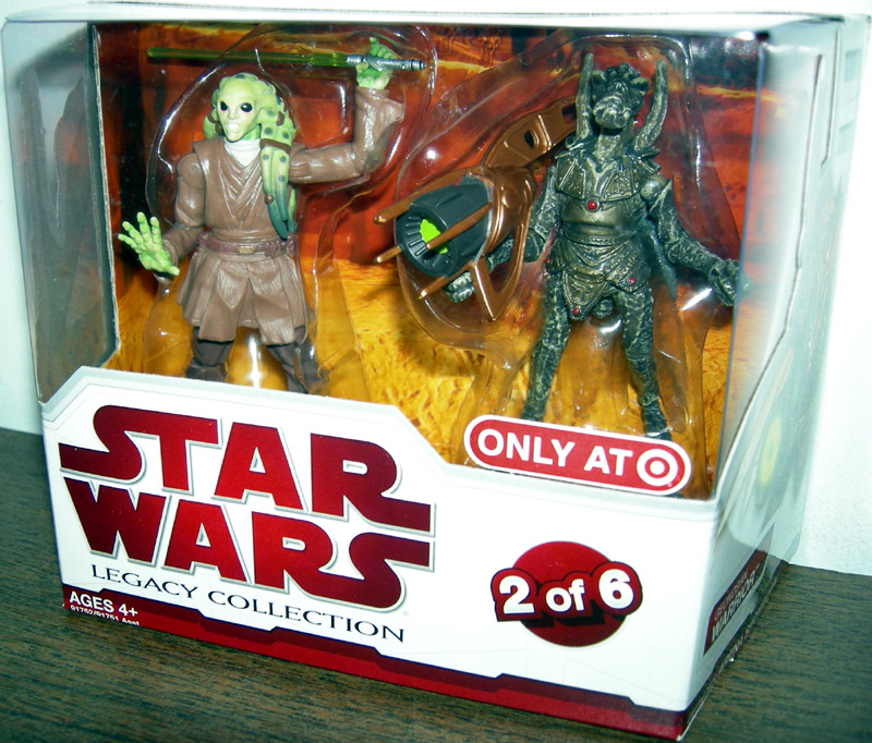 Kit Fisto & Geonosian Warrior (2 of 6)