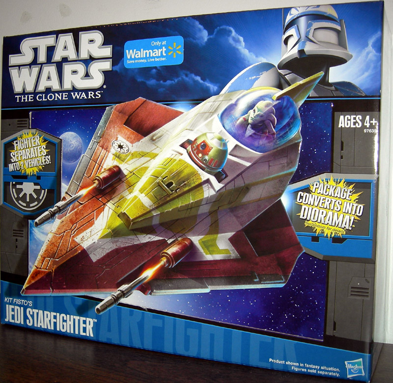Kit Fisto's Jedi Starfighter (The Clone Wars)