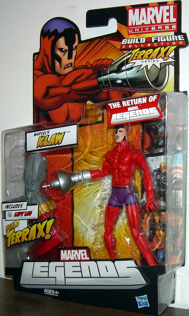 Klaw (Marvel Legends, Terrax Series)
