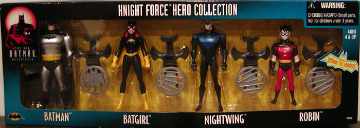 Knight Force Hero Collection 4-Pack (The New Batman Adventures)