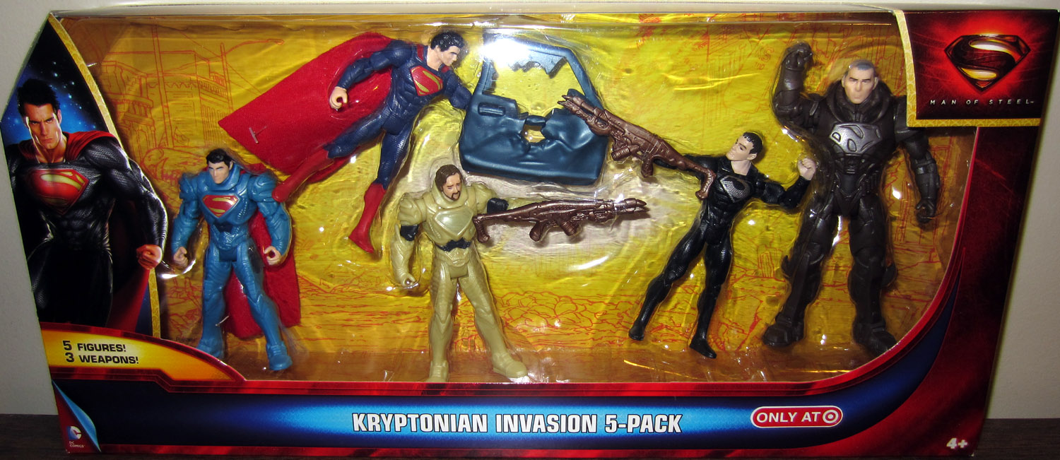 Kryptonian Invasion 5-Pack