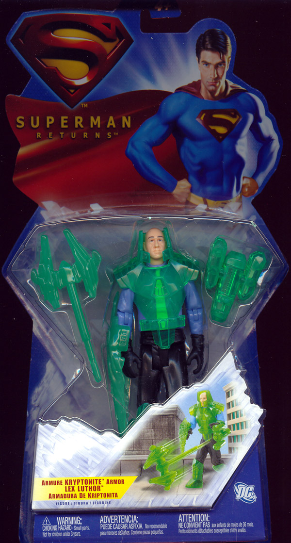 Kryptonite Armor Lex Luthor