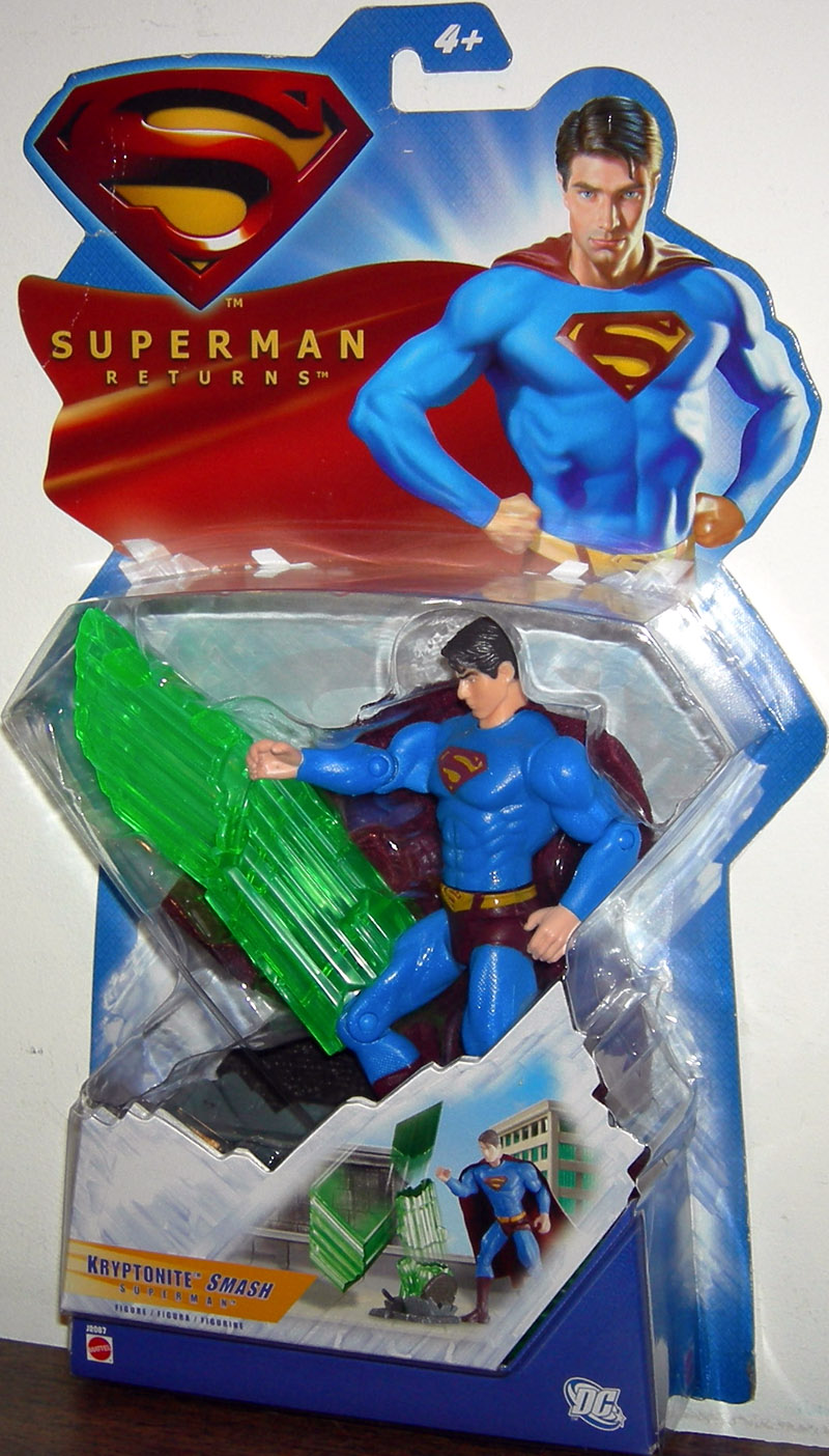 Kryptonite Smash Superman