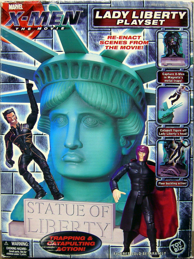 Lady Liberty Playset