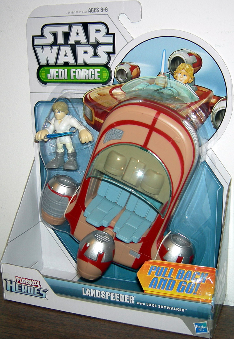 Landspeeder with Luke Skywalker (Playskool Heroes)