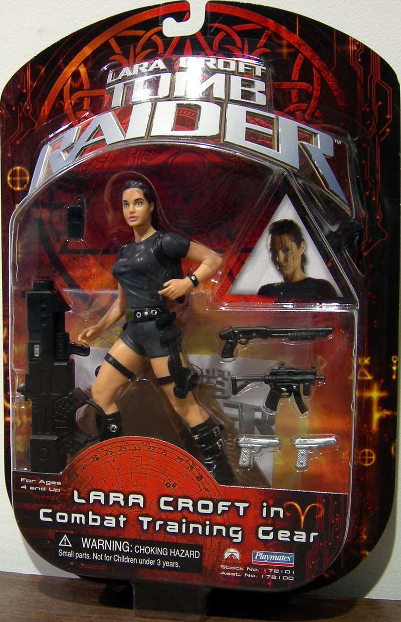 Lara Croft in Combat Training Gear (movie)