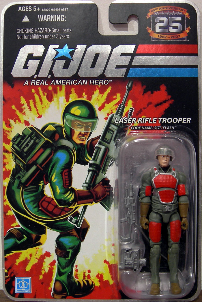 Laser Rifle Trooper (Code Name: Sgt. Flash)