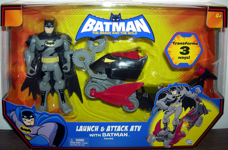 Launch & Attack ATV with Batman