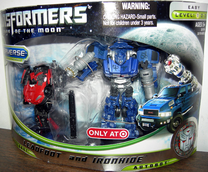 Leadfoot and Ironhide (Target Exclusive)