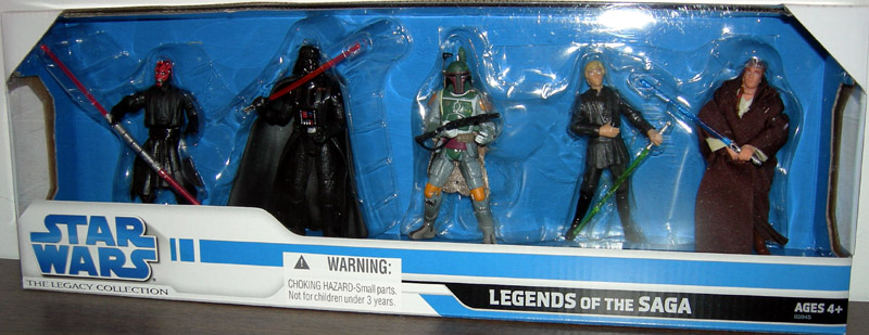 Legends Of The Saga 5-Pack (The Legacy Collection)