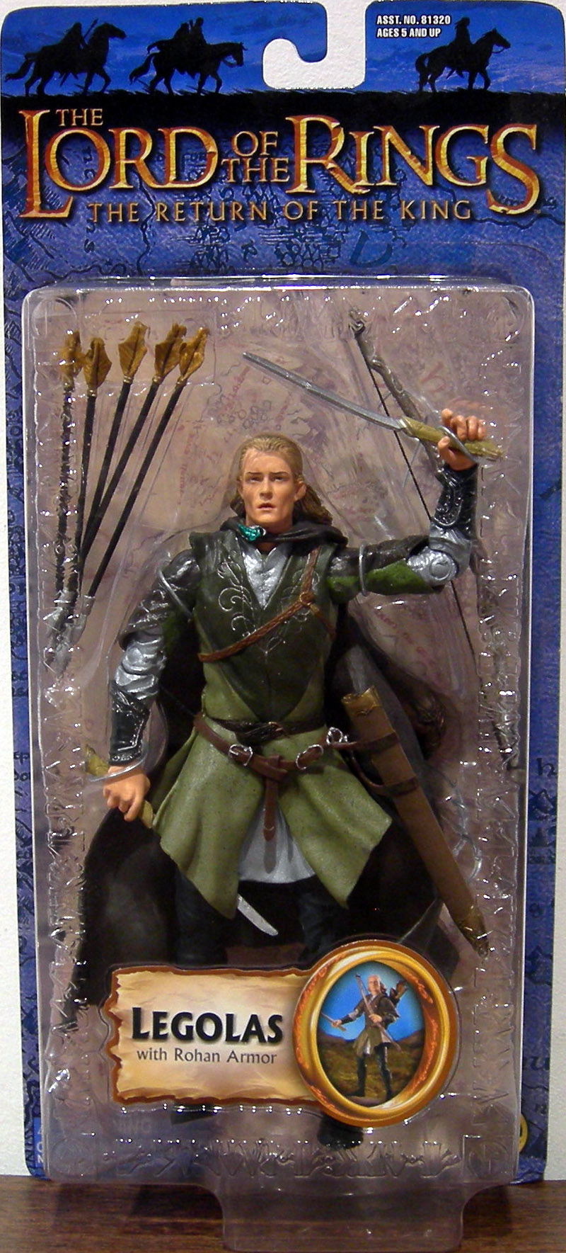 Legolas with Rohan armor (Trilogy)